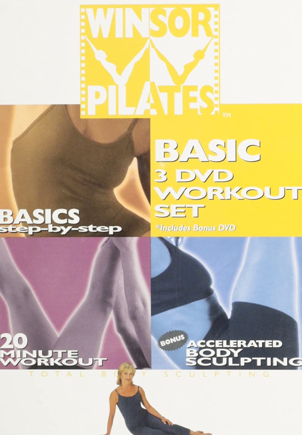 Winsor Pilates Basic 3 DVD Workout Set