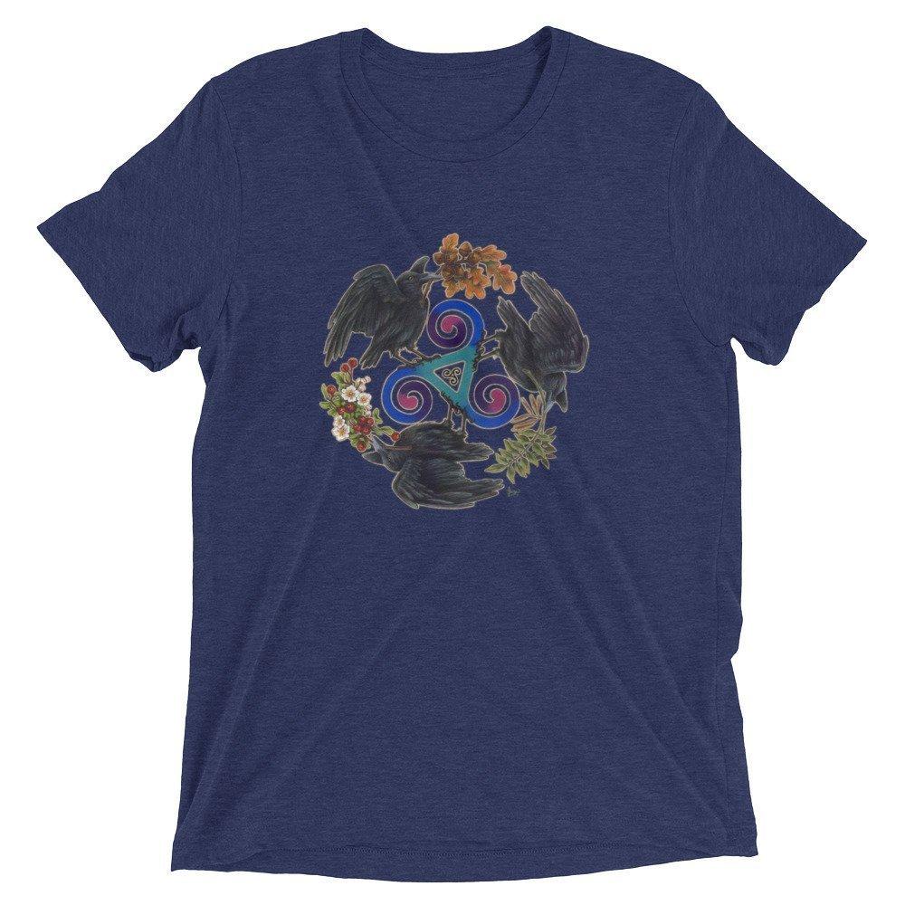 Ashwood Arts Short Sleeve t-Shirt Celtic Raven Fey