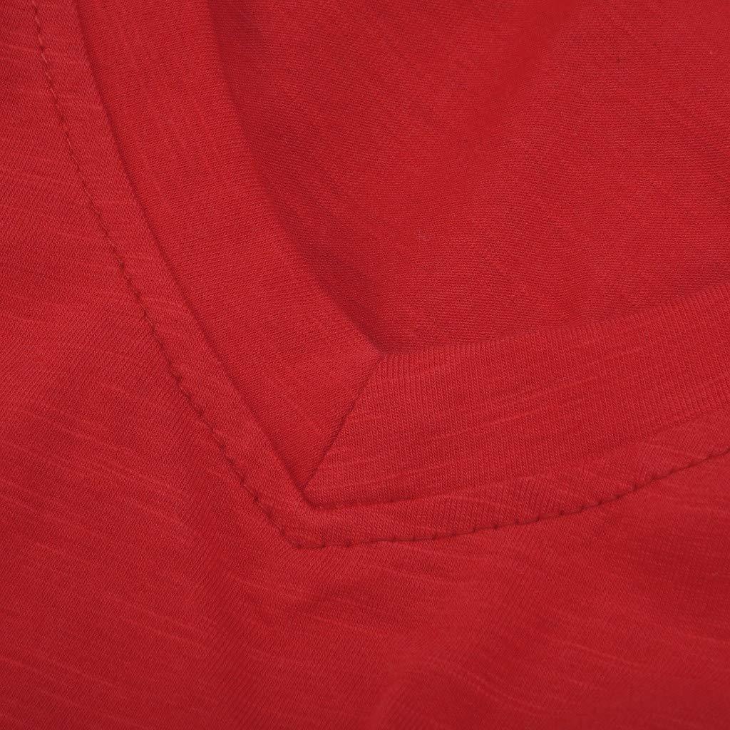 Kekebest Shirts for Women Tank Tops V Neck Sleeveless CasualLoose Fit VestTunic Shirts