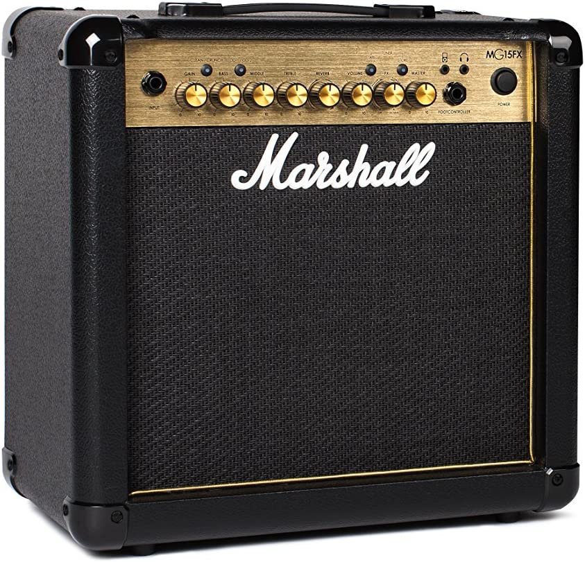 Amazon.com: Marshall Amps Guitar Combo Amplifier (M-MG15GFX-U ...