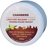 Natural Chambers Leather Balsam Conditioner 200ml (Vanilla Notes)