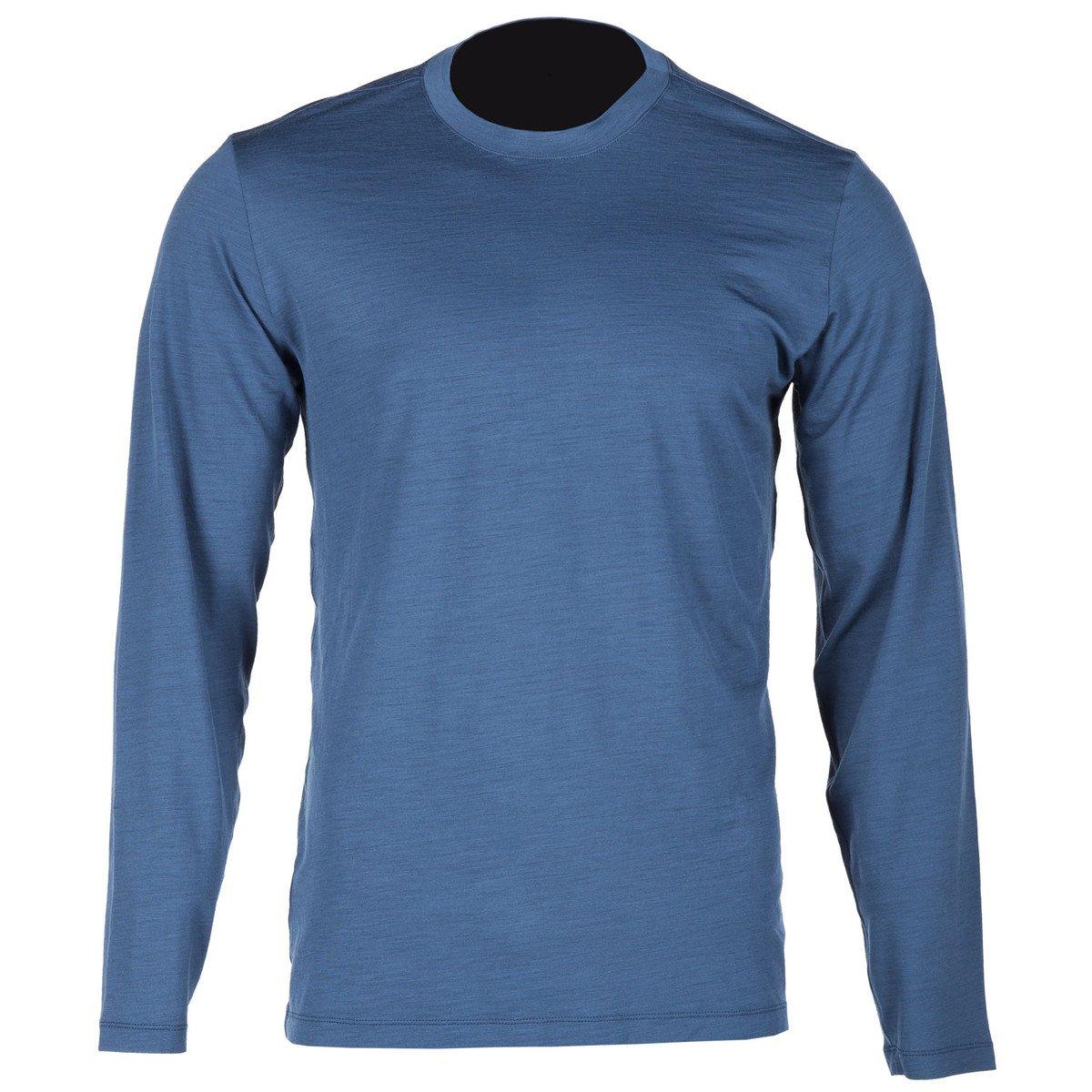 Klim Teton Merino Wool LS Shirt - Blue/3X-Large