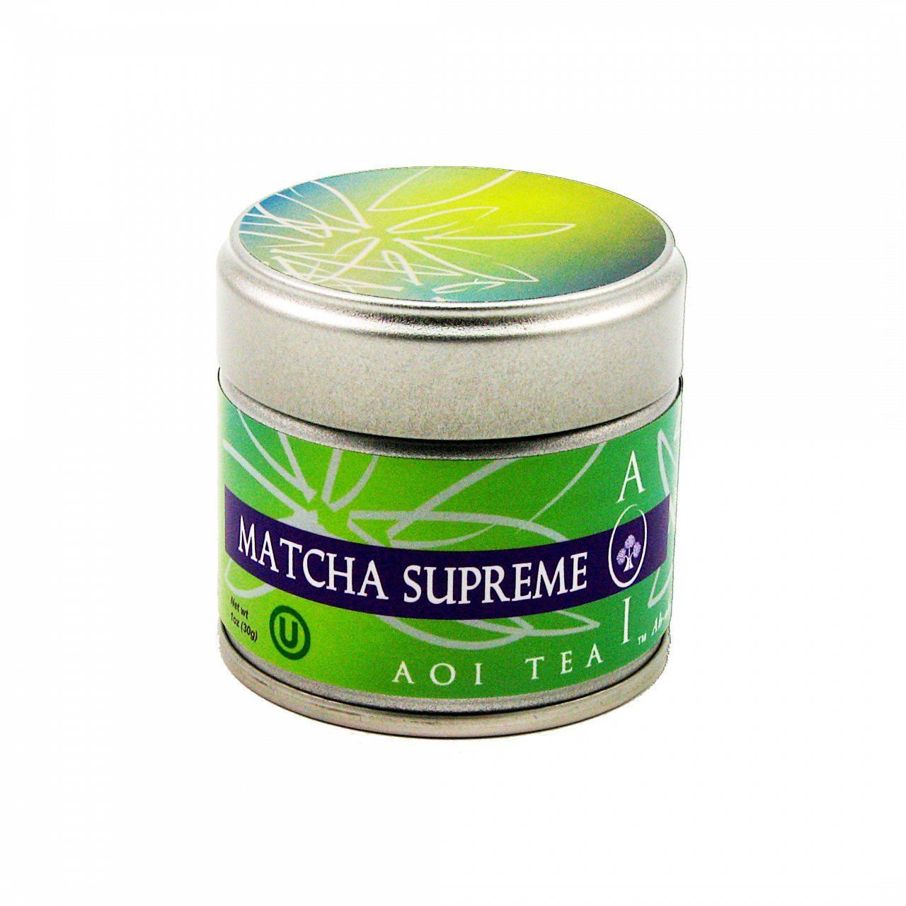 AOI Tea Japanese Matcha Supreme Green Tea Powder 1 Ounce  (30 Grams)