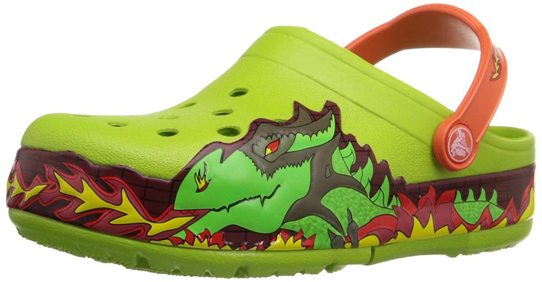 Crocs Kids Light-Up Fire Dragon Clog