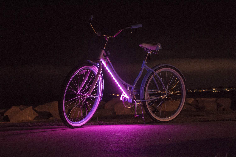 Amazon.com: Luces de bicicleta de tercer percusión. Seguro ...