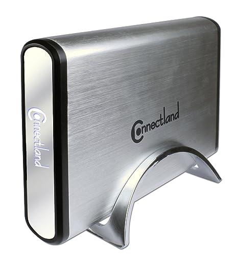 Connectland BE-USB3-U35SEA - Carcasa Externa para Disco Duro SATA (USB 3.0, 3,5