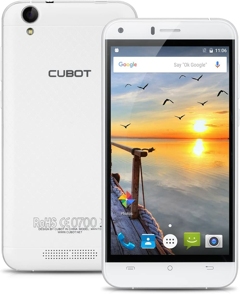 Cubot Manito - 4G Smartphone Libre Android 6.0 (5