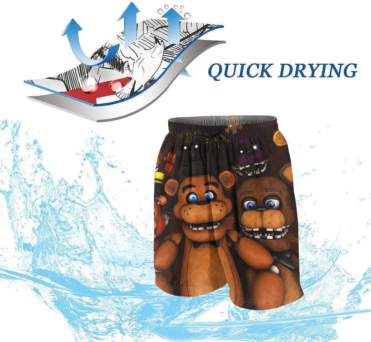 Five Nights at Freddys FNAF 3D Printing Boys Girls Summer Casual Beach Shorts Funny Shorts