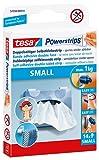 tesa Powerstrips® SMALL für max. 1 kg, Packung mit 14 Strips (2 Packungen = 28 Strips)