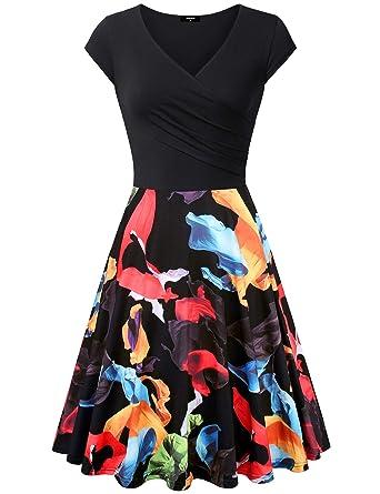 596d04f84de1 Lotusmile Casual Dress