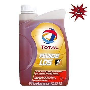 Total Fluide LDS hidráulico Suspensión Citroen C5, C6 -5 x 1L=5 L