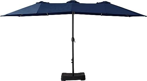 Amazon Basics Oversize Outdoor Market Patio Umbrella