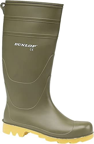 Dunlop Universal PVC Welly/Mens Wellington Boots/Rain Boots | Rain -  Amazon.com