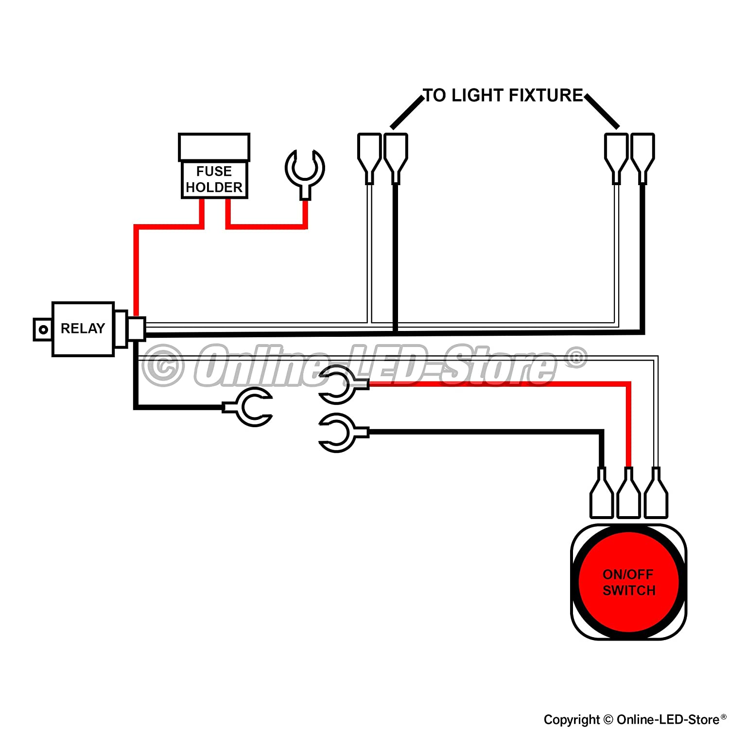 716CShdU1oL._SL1500_ nilight wiring diagram 12v rocker switch wiring diagram \u2022 free nilight led wiring diagram at soozxer.org