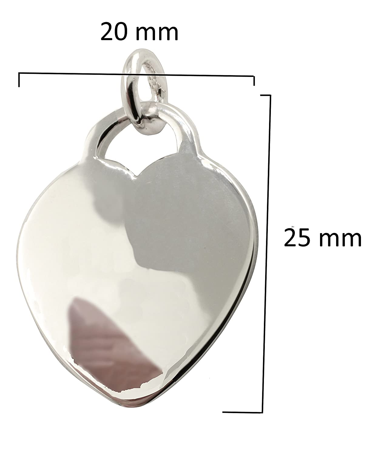 Plated Army Wife Dog Tag DT New York 925 /& Co