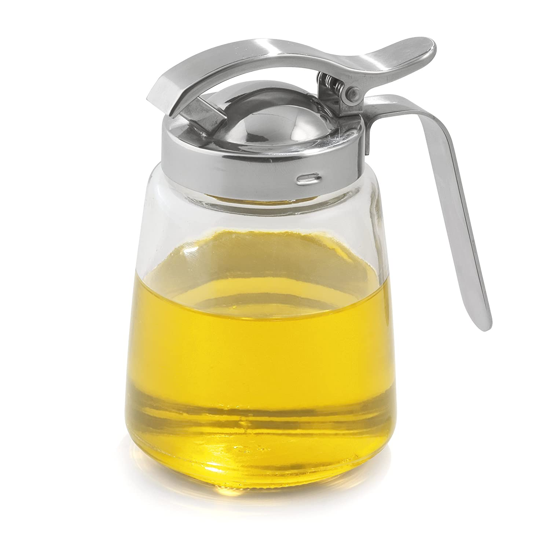 Edelstahl Weis 15054 Honigspender Glas