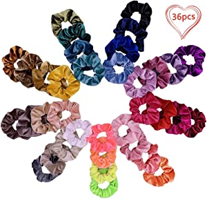 Sweepstakes: 36 Packs Hair Scrunchies with Gift Bag