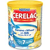 Nestle Cerelac Banana & wheat with milk 400gm