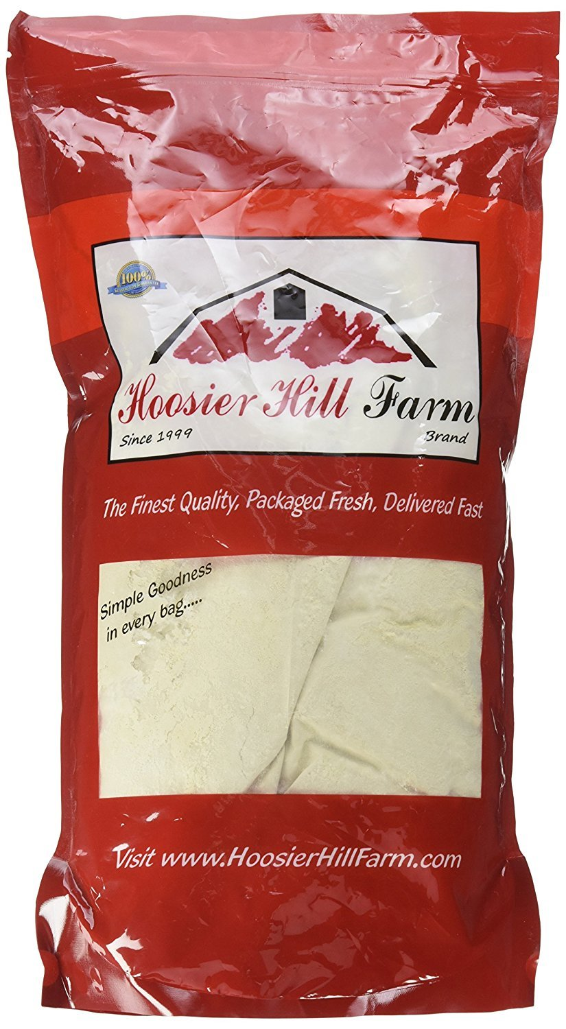 Hoosier Hill Farm Vital Wheat Gluten, High in Protein, NON-GMO 4 lbs by Hoosier Hill Farm