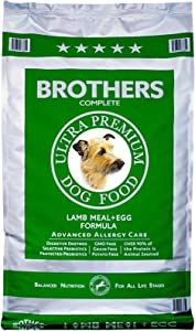 Brothers Lamb Meal & Egg Dog Food 25 LB