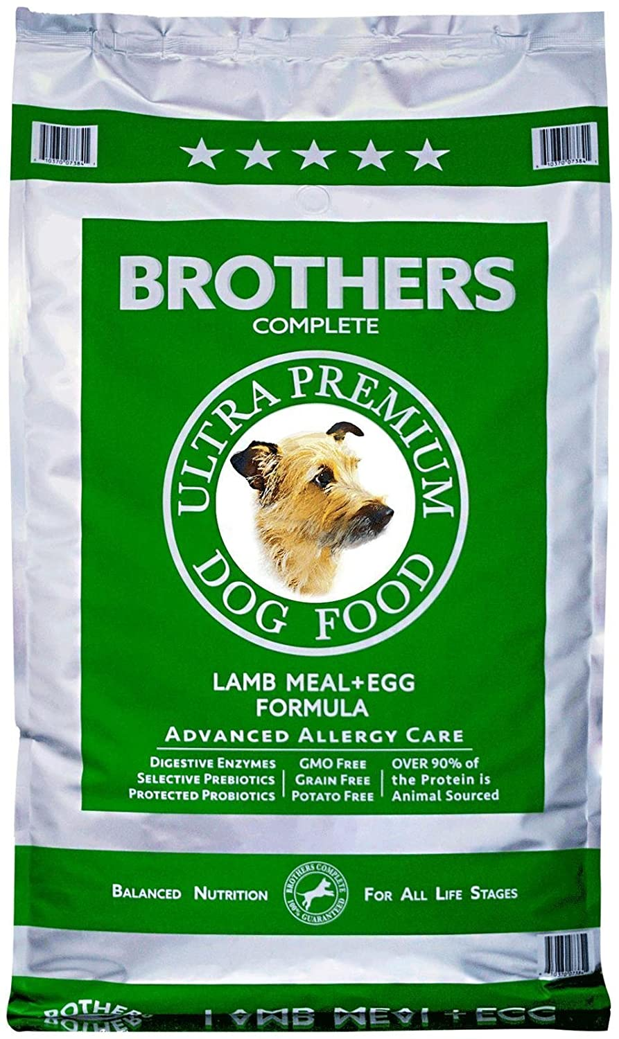 Bredhers Complete Lamb Meal and Egg Advanced Allergy Formula, 25-Pound by Bredhers Complete