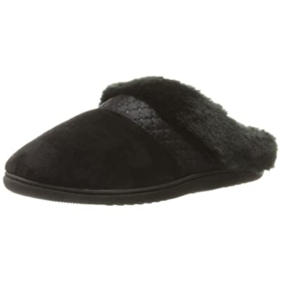 Isotoner Women\'s Velour Diane Hoodback Slippers | Slippers [3Bkhe0806262]