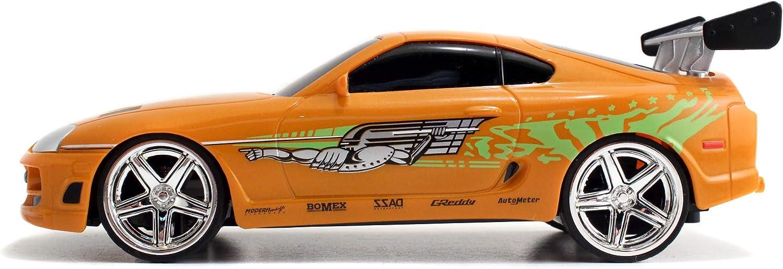 Escala 1:24/ª Jada Fast /& Furious funci/ón Turbo 253203021 Coche teledirigido Toyota De Brian