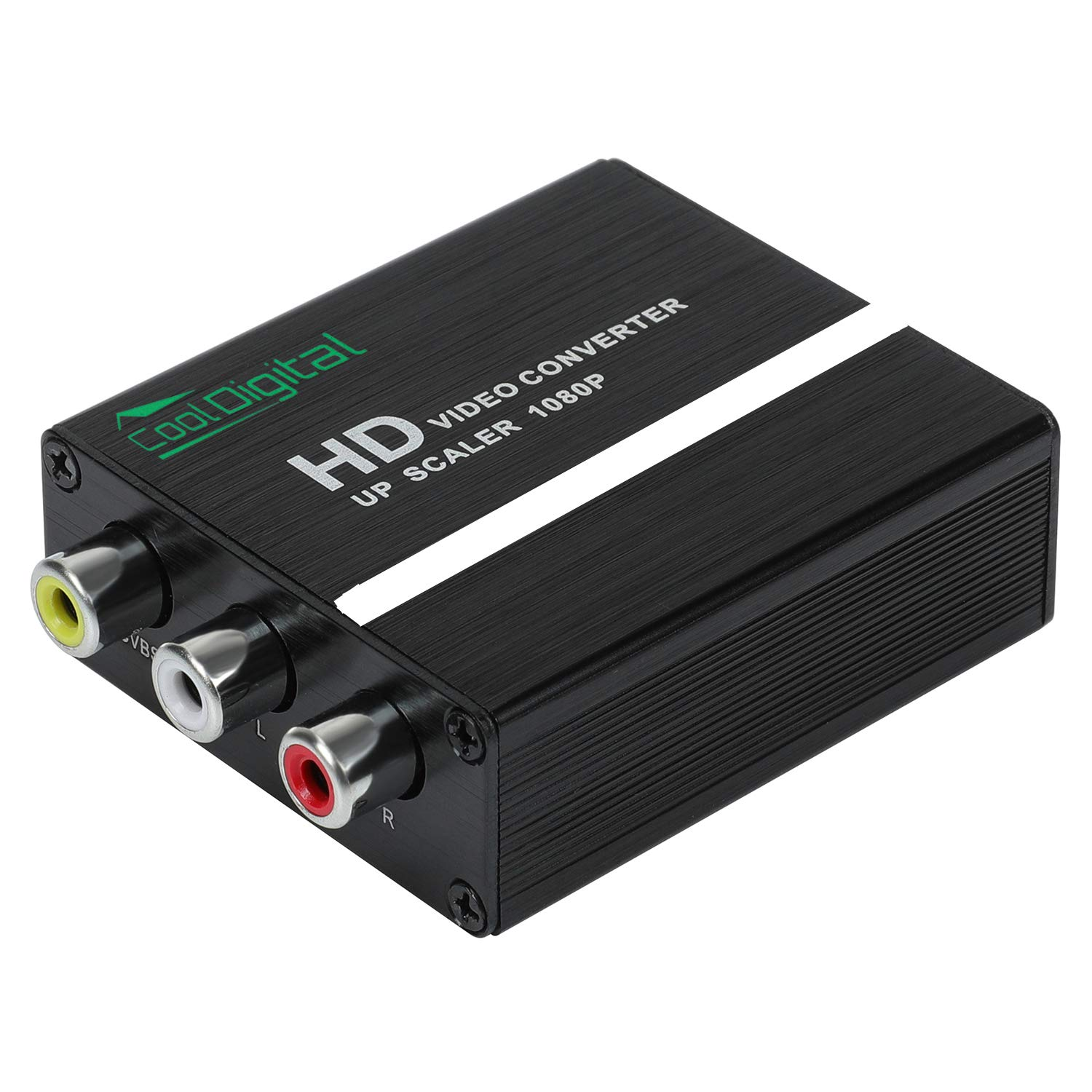 AUTOUTLET HDMI Splitter 1 in 4 Out,V1.4 Powered 1x4 Ports Box Supports 3D Full Ultra HD 1080P 4K//2K and Compatible with PC STB PS3 Roku Blu-Ray Player HDTV
