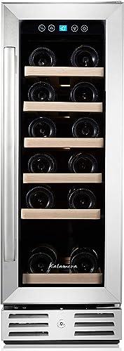 Kalamera-12''-Wine-Cooler-18-Bottle-Built-in-or-Freestanding