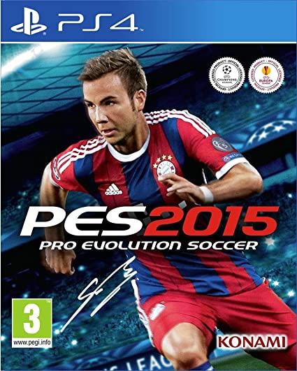 Konami PES 2015, PS4 PlayStation 4 vídeo - Juego (PS4, PlayStation ...