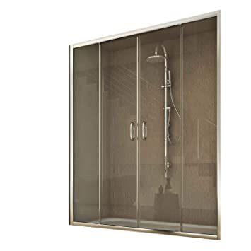 Porte Douche 170 Cm 185 Transparent Modele Replay 2 Portillons