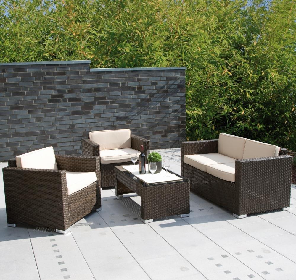 Siena Garden 560592 Lounge Juego de Pedro, 2 sillones L 71 x ...