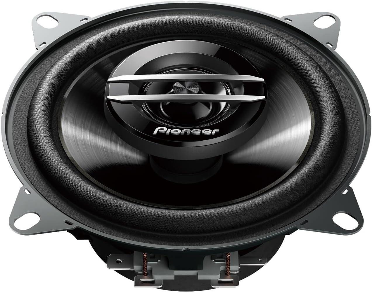 Pioneer Ts G1020f 2 Weg Koaxiallautsprecher Für Autos 210 W 10 Cm Kraftvoller Klang Impp Membran Für Optimalen Bass 30 W Eingangsnennleistung 43 Mm Einbautiefe Schwarz 2 Lautsprecher Auto