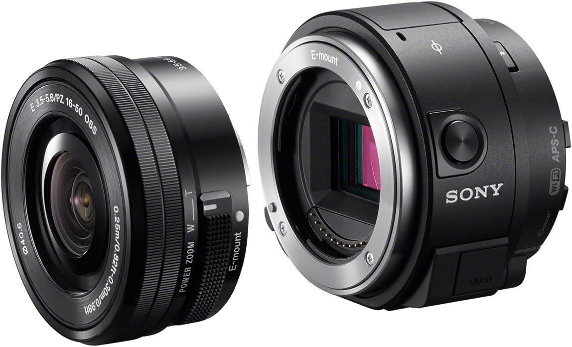 Sony Ilce Qx1l Systemkamera Inkl Sel P1650 Schwarz Kamera