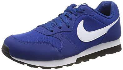 quality design d48ab c3499 Nike MD Runner 2 (GS), Sneakers Basses Homme, Bleu (Gym Blue