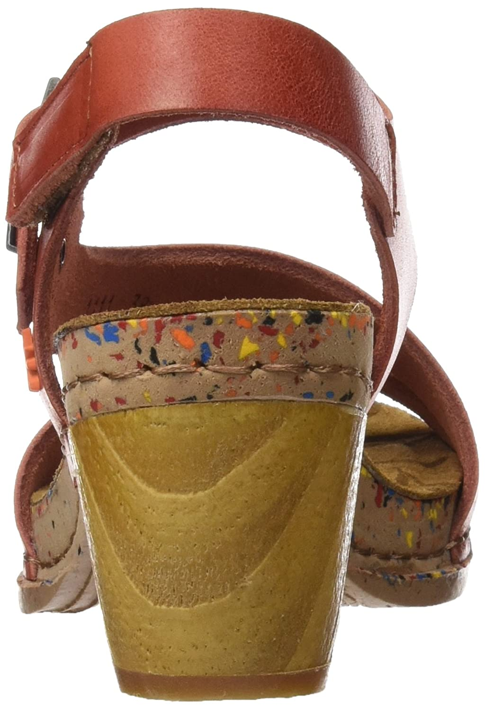 ART Damen 1111 Mojave mit I Laugh Sandalen mit Mojave Knöchelriemen Rot (Granada) 7760ec