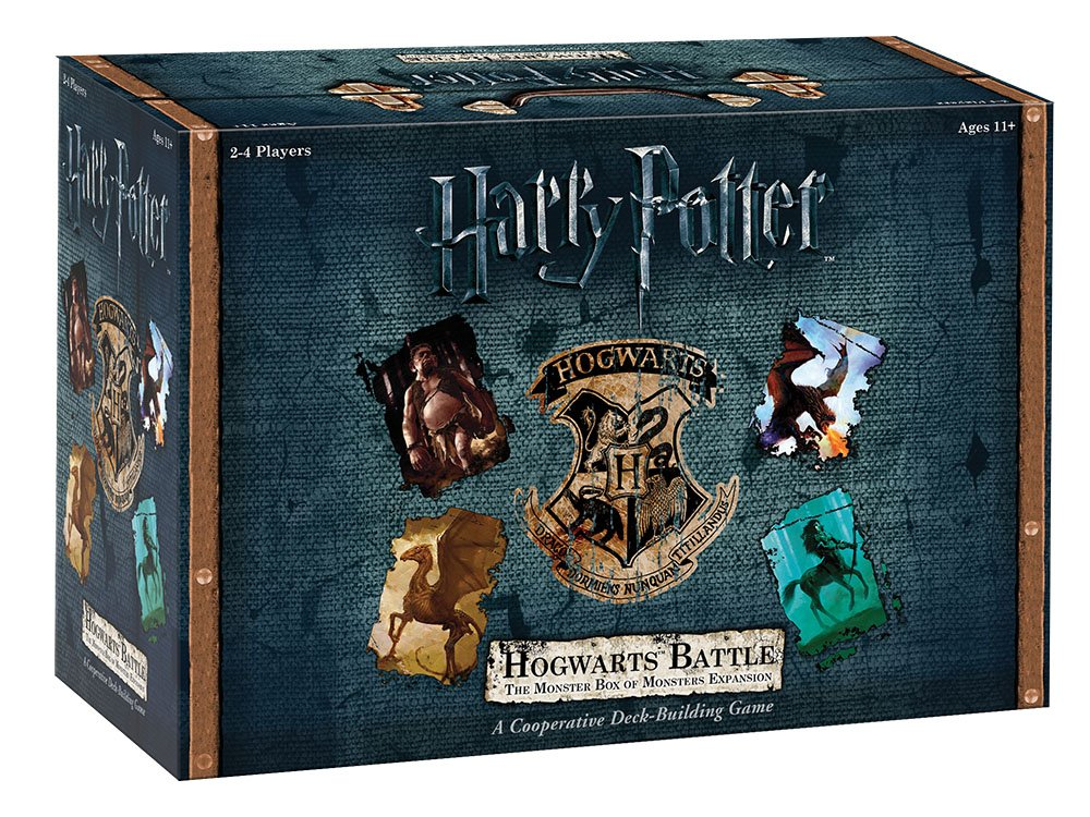 1bd3e11de Amazon.com: USAOPOLY Hogwarts Battle - The Monster Box of Monsters  Expansion Card Game: Game: Toys & Games