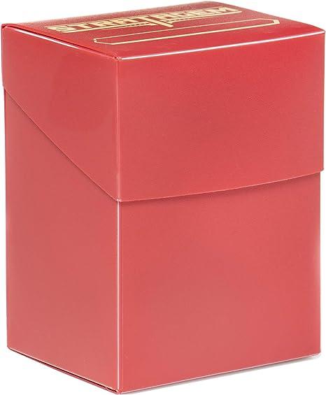 Caja de cartas Stratagem The Big Box con separador, rojo, caja TCG ...