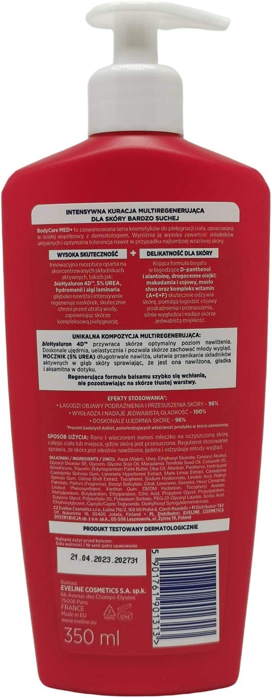 Eveline Extrasoft SOS Ultra Nourishing Body Lotion 350ml