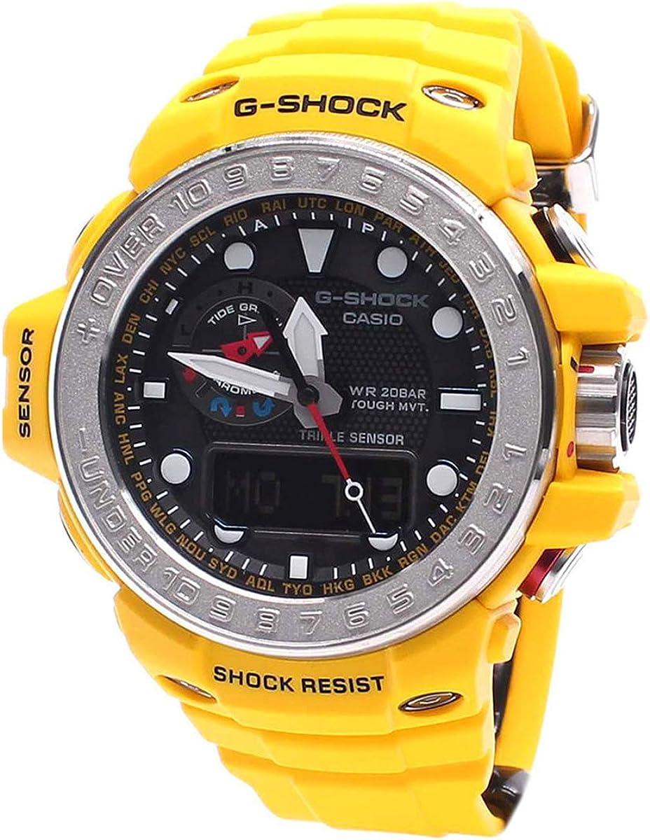 Casio Mens G SHOCK GULFMASTER Analog-Digital Sport Solar Watch NWT GWN-1000-9A
