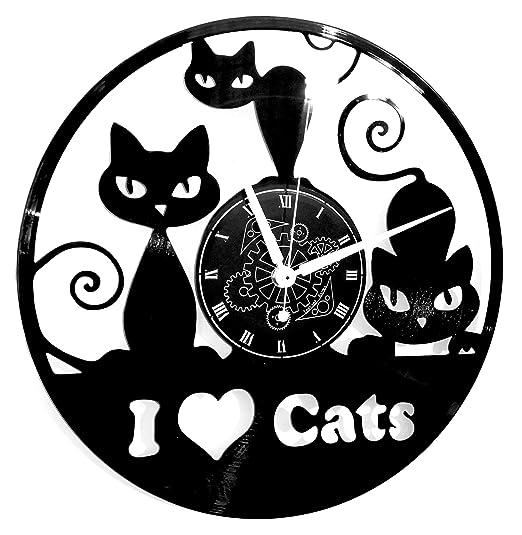 Instant Karma Clocks Reloj de Pared de Vinilo con diseño de ...