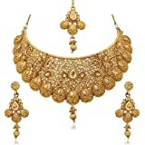 Reeva Gold Plated Necklace Sets For Women