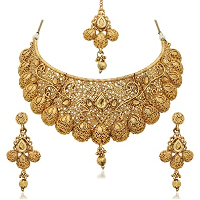 Buy Reeva Gold Plated Necklace Sets For Women line at Low Prices