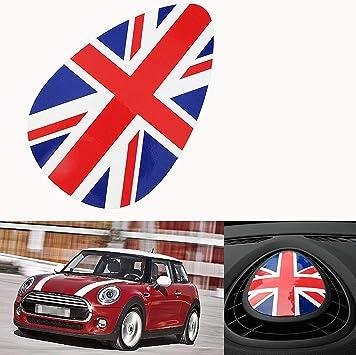 Union Jack Checkered Car Shift Lever Decor Cover For Mini Cooper F54 F56 F55