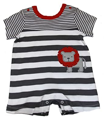 db0544e9d Amazon.com  OffSpring - Baby Apparel Baby-Boys Newborn Lion Romper ...