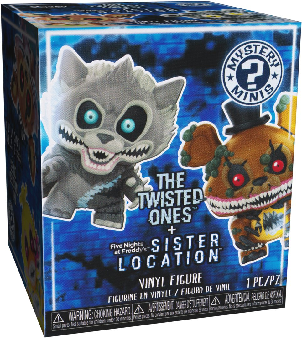 BCC94X203 Twisted Wolf: ~2.3 Funko Mystery Minis x Five Nights at Freddys 28816H Sister Location Mini Vinyl Figure