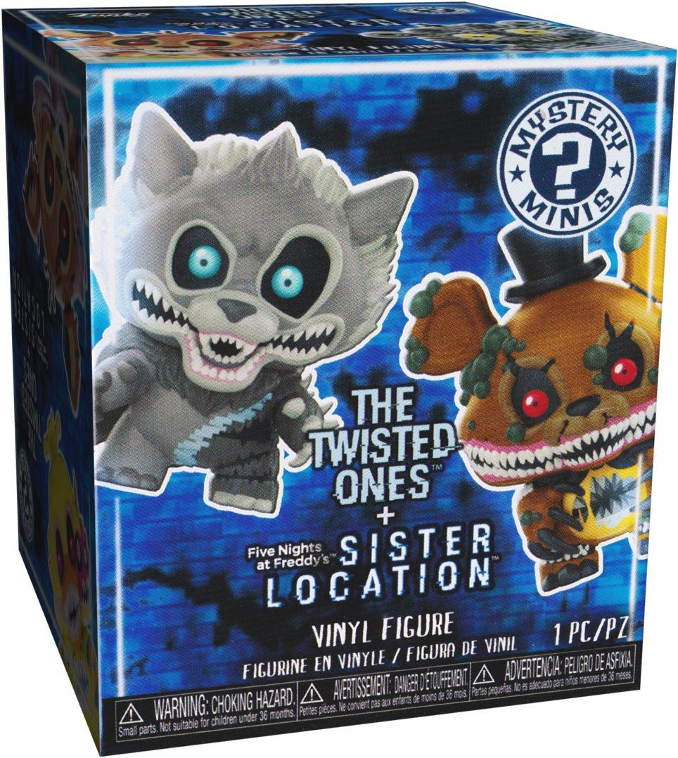 Sister Location Mini Vinyl Figure 28816J Twisted Chica ~2.3 Funko Mystery Minis x Five Nights at Freddys