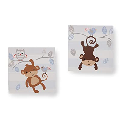 Bedtime Originals Mod Monkey Wall Decor: Baby