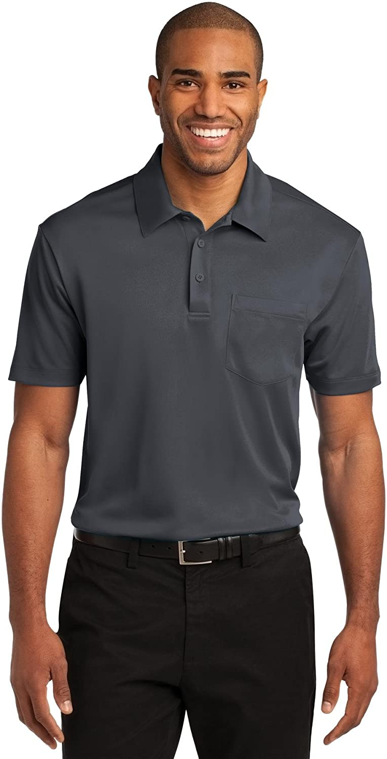 Port Authority Men's Silk Touch Performance Pocket Polo