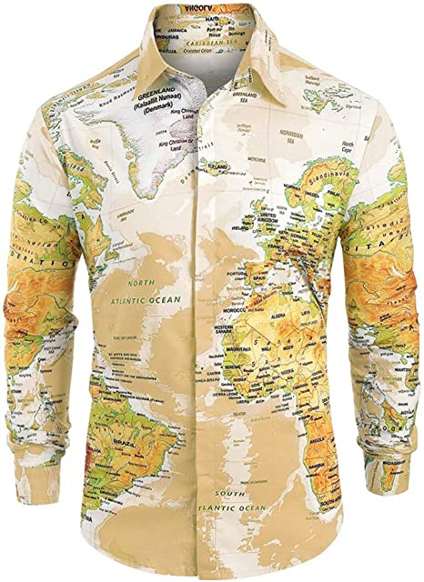 NnuoeN☀ Camisa con impresión Hawaiana para Hombre Estampada ...
